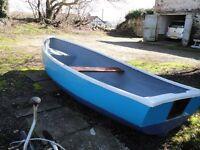 12ft Fibreglass Fishing Boat /Tender/ Punt