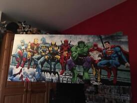 Marvel Wall Canvas