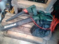 Black and decker 123 blower and vac