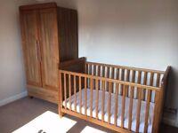Babystyle Calgary Oak Nursery Furniture