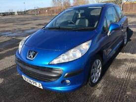 08 PEUGEOT 207 S 1.4 HDI ONLY £30 TAX IST CLASS CONDITION £1999