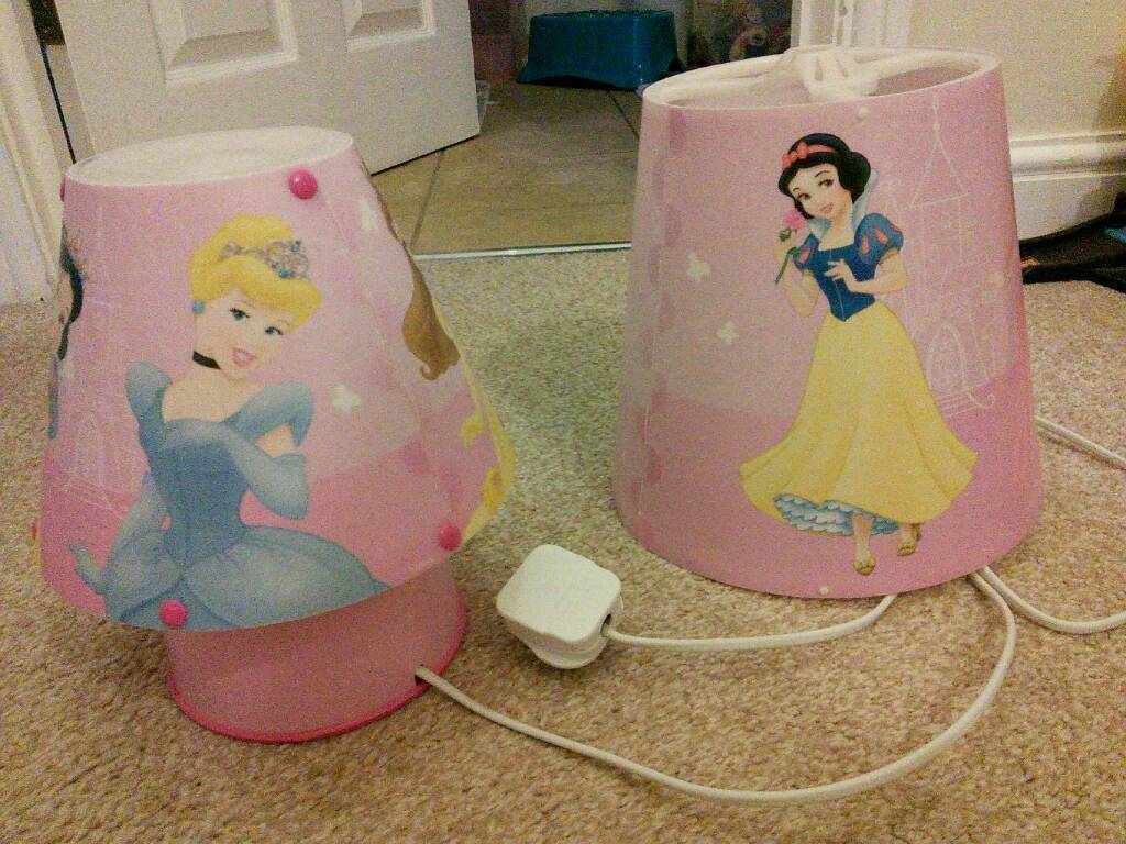 Disney Princess Lamp And Shade In Cheltenham Gloucestershire Gumtree