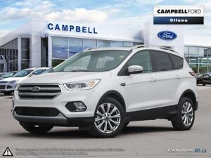2017 Ford Escape Titanium SALE PRICED-AWD-LOADED-NAV-LEATHER