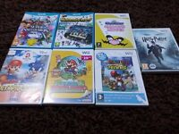7 x Wii U & Wii Games,Super Smash Bros,Mario Tennis,Nintendo Land + More