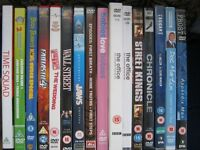 16 DVD's for sale