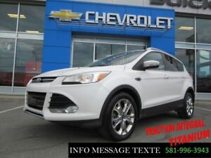 2014 Ford ESCAPE AWD Titanium, GPS, TOIT OUVRANT