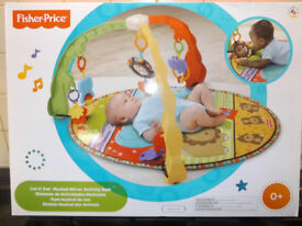 Fisher Price Luv U Zoo - Musical Mirror Activity GYm
