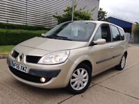 LOW MILES//2007 REG G-SCENIC/ HPI CLEAR, TWO OWNER CAR, YEAR MOT, FIVE SEATTER FAMILY CAR
