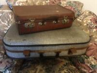 Vintage, retro suitcases