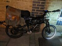 "20"" custom cargo electric bike ebike - For repair - London UK"