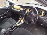 Black Jaguar X-Type 2.5 2001 Petrol/LPG