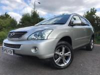 LEXUS RX400H HYBRID AUTOMATIC WITH NAVIGATION BLUETOOTH REVERSE CAMERA HEATED LEATHER SEATS