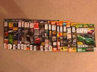 18 copies of the latest performance BMW magazines