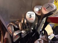 Golf Clubs set in Carrier
