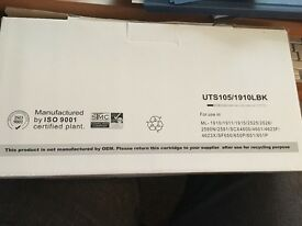 New unopened Black Toner for laser printer Samsung ML 2525 and others, see photos