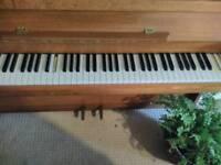 Vintage 1877 piano