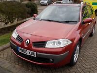 Renault Megane for sale as no car need due to new job