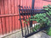 Wrought iron sliding gate ( cantilever type )
