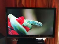 Sharp aquos lcd tv television 42 inch