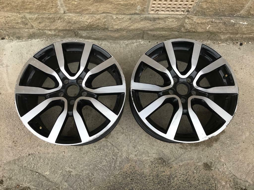 "Genuine VW Golf MK7 GTD/GTD/R Serron 18"" Alloy Wheels X2 only 2013-2014-2015-2016-"