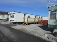 6 berth holiday caravan to hire on snowlands caravan park par cornwall