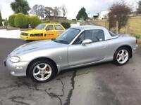 MAZDA MX5 HARDTOP 2005 ***12 MONTHS MOT*** ONLY 74000 MILES***