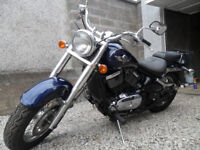 Kawasaki VN800 Classic. Only 1261 miles. Just been serviced. 1 years MOT.