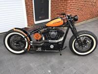 Harley Davidson custom bobber(bobberbros)