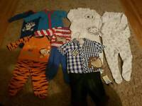 New Baby Boy Clothes 3-6mths