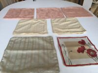 Job Lot of 7 Cushion Covers - Only £1