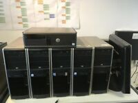 10 towers and 6 monitors – Ideal for parts and rebuild £100 the lot