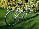 BEAUTIFUL VINTAGE RALEIGH 5 SPEED RACER- TALL 23 inch FRAME JUST SERVICED