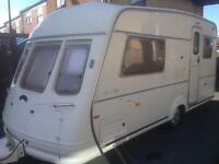 2 berth Vanroyce 450/ek. Top of the range luxury model with awning and extras excellent condition