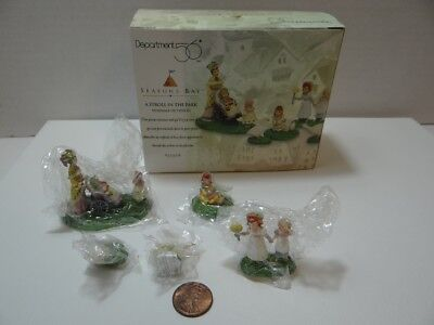 Dept 56 Seasons Bay A Stroll In The Park 53308 Set of 5