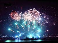 Wedding Display Of Fireworks.