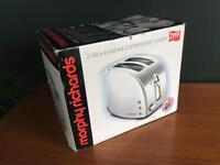 Brand New, Unused Morphy Richards Toaster - Two Slice
