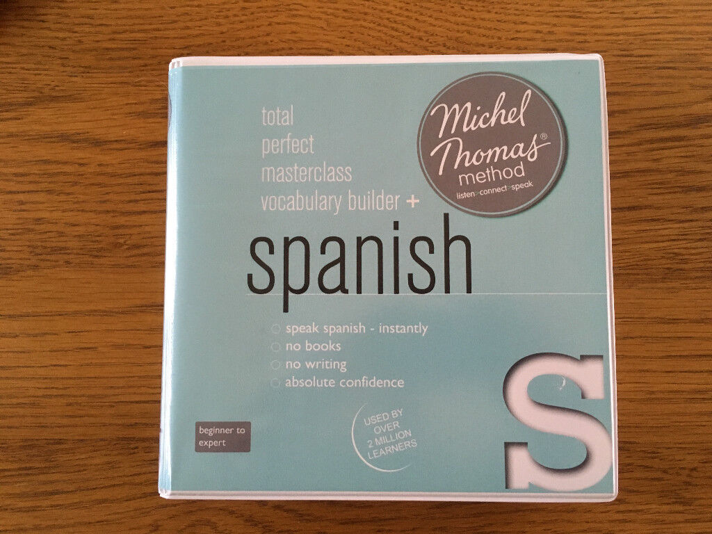 Michel Thomas Full Spanish Course (Total, Perfect, Masterclass and  Vocabulary Builder) 20 CD's | in Watton, Norfolk | Gumtree