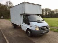 Ford transit Luton with 500 kg tail lift drives superb