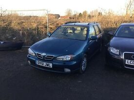Nissan primera estate car in vgcondition alloys drives really smooth any trial welcome