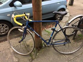 Raleigh road bike, good condition, fast.