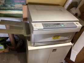 B&W Photocopier. Very good, clean condition. B&W. A4/A3