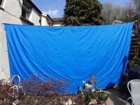 Garden Sail 5m x 5m in Blue (Brand New)