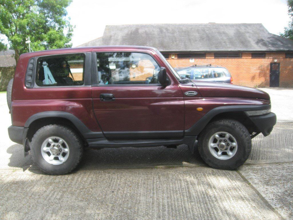 ssangyong korando jeep 4x4 in northampton northamptonshire gumtree. Black Bedroom Furniture Sets. Home Design Ideas