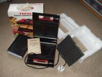 Tefal Sandwich toaster that grills and makes waffles and wafers as well as sandwiches