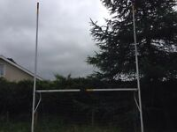2 sets of Gaelic football and hurling goal posts