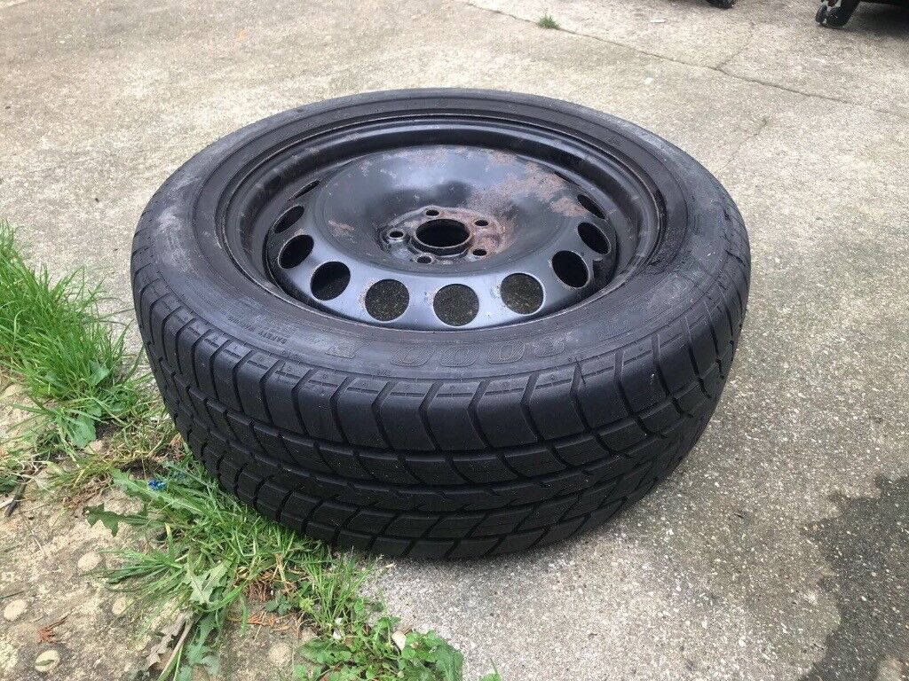 VW GOLF MK4 5x100 SPARE WHEEL WITH TYRE