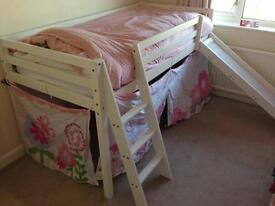 Children's Cabin Bed with slide