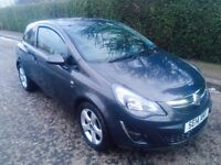 2014 Vauxhall Corsa Sxi 1,2 petrol , Low mileage only 17,000 , £3900