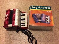 Small accordion / Baby accordian