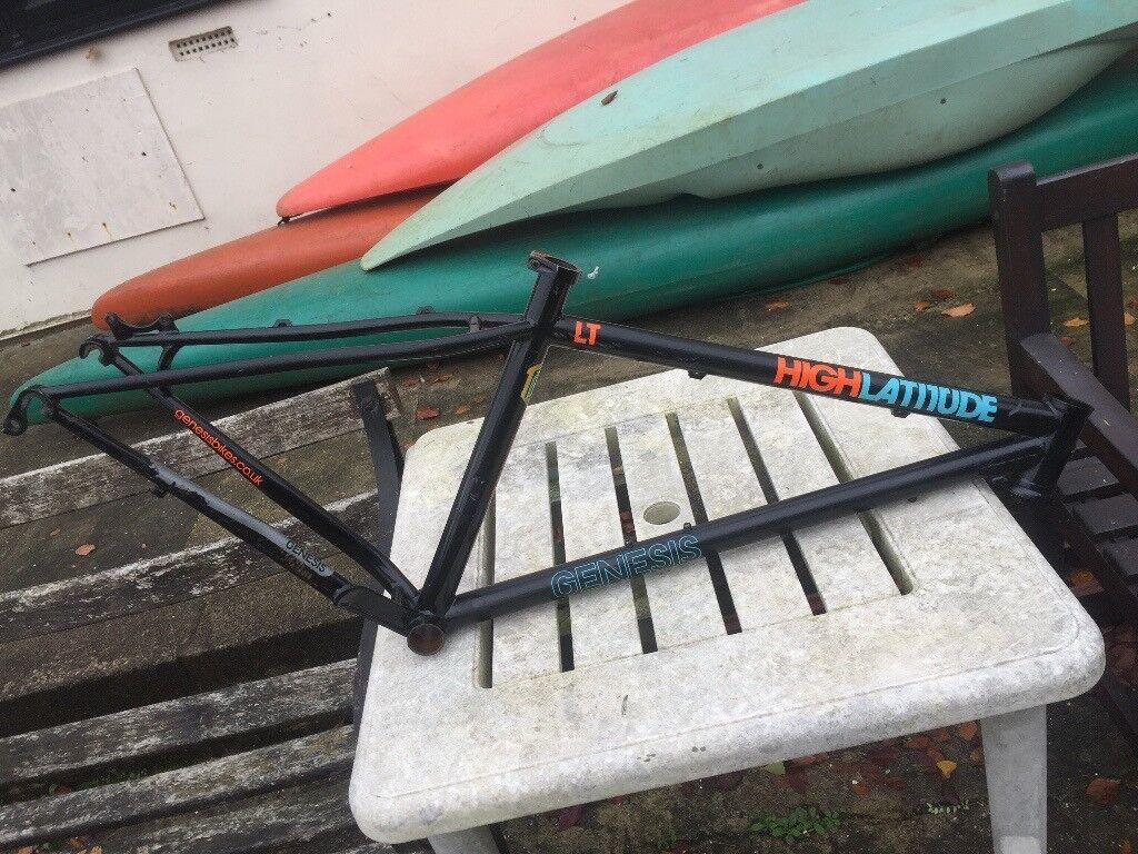 2014 Genesis High latitude steel mountain bike frame small
